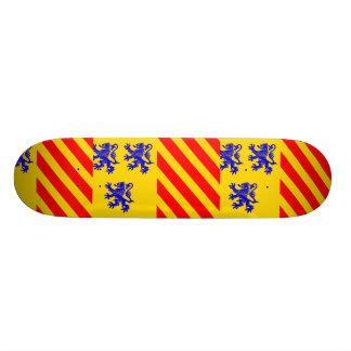 Limousin Alternate France flag Skateboards