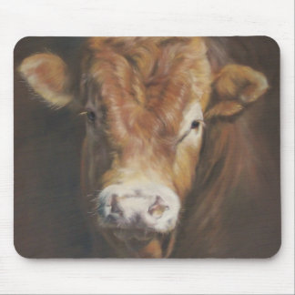 Limousin Bull Mouse Pad