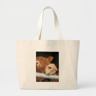 Limousin Cattle (Mad Cow) Canvas Bag