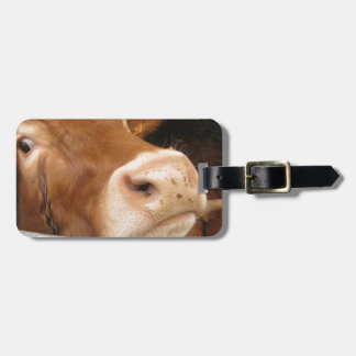 Limousin Cattle (Mad Cow) Tag For Luggage