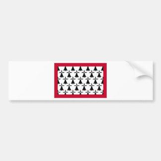 Limousin Flag Bumper Sticker