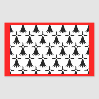 Limousin flag french region france country rectangular sticker