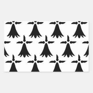 Limousin Flag Rectangular Sticker
