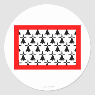 Limousin flag stickers