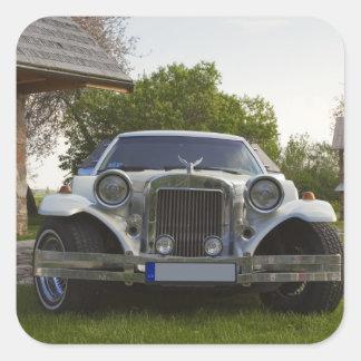 Limousine at homestead square sticker
