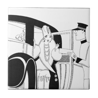 Limousine by Anne Harriet Fish Tile