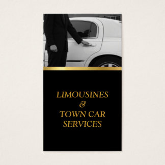 Limousine, Limo, Town Card, Driver Service