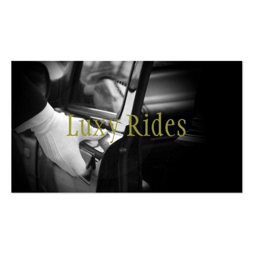 Limousines Limo Car Services Driver Business Card