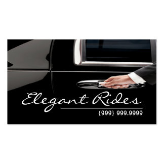 Limousines Limo Car Services Driver Business Card Pack Of Standard Business Cards