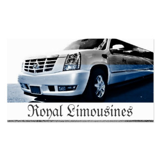 Limousines Limo Services Driver Business Card