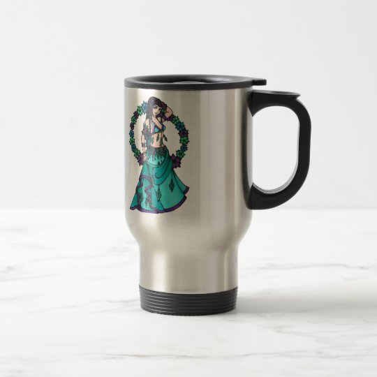 Lina Belly Dancer Travel Mug