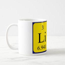 Lina name gifts on zazzle uk lina periodic table name mug urtaz Image collections