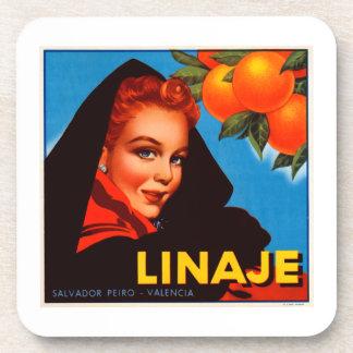 Linaje Citrus Coasters