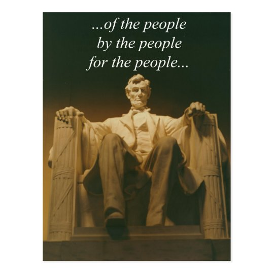 Lincoln 1 postcard