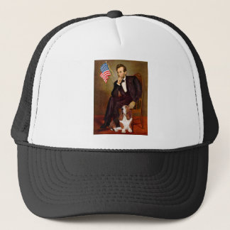 Lincoln and Basset #2 Trucker Hat