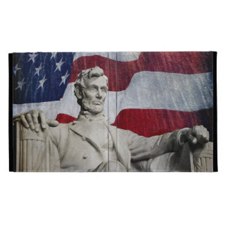 Lincoln and Fireworks iPad Folio Cases