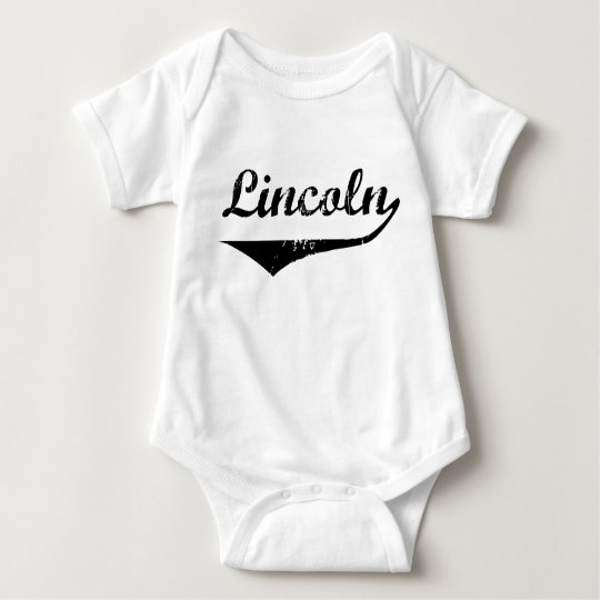 Lincoln Baby Bodysuit