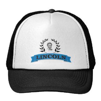 lincoln blue cap