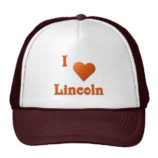 Lincoln -- Burnt Orange Mesh Hat