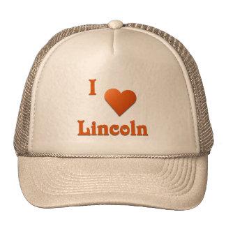 Lincoln -- Burnt Orange Hats