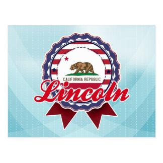 Lincoln, CA Postcard