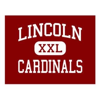 Lincoln - Cardinals - Junior - Park Falls Postcard