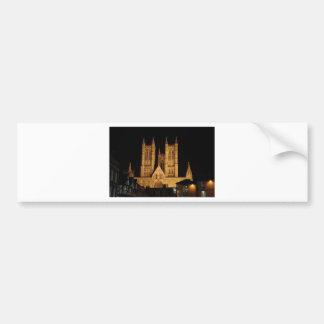 Lincoln Cathedral Bumper Sticker