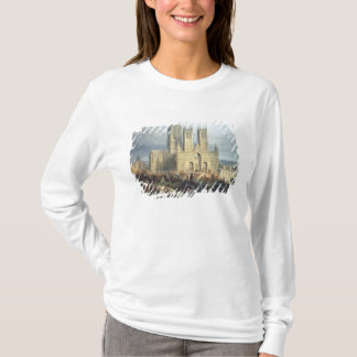 Lincoln Cathedral from the North West, c.1850 T-Shirt