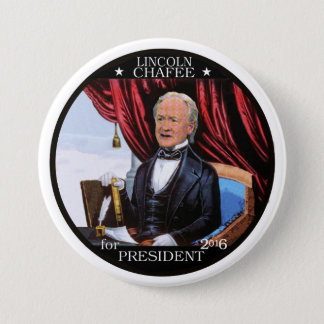Lincoln Chafee 2016 7.5 Cm Round Badge
