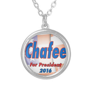 Lincoln Chafee for President 2016 Round Pendant Necklace