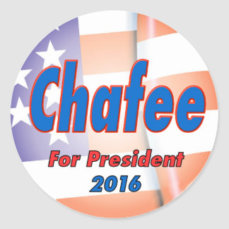 Lincoln Chafee for President 2016 Round Sticker