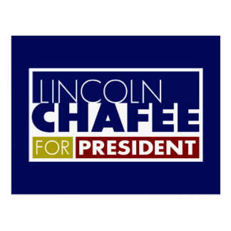 Lincoln Chafee for President V1 Postcard