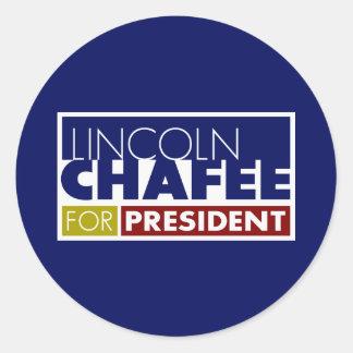 Lincoln Chafee for President V1 Round Sticker