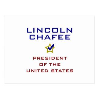 Lincoln Chafee for President V2 USA Postcard