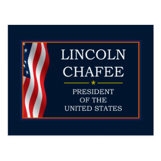 Lincoln Chafee for President V3 Postcard