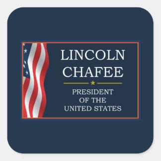 Lincoln Chafee for President V3 Square Sticker