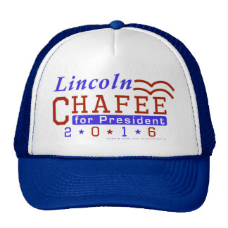 Lincoln Chafee President 2016 Election Democrat Cap