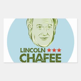 Lincoln Chafee President 2016 Rectangular Sticker