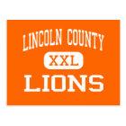 Lincoln County - Lions - High - Eureka Montana Postcard