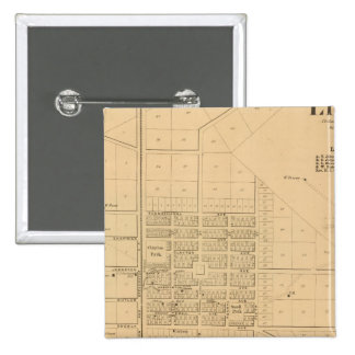 Lincoln Delaware 15 Cm Square Badge