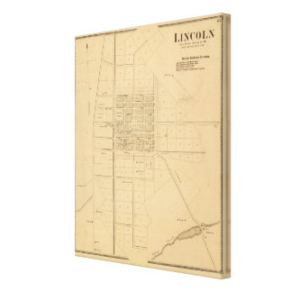 Lincoln Delaware Canvas Print