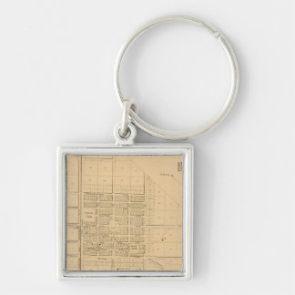 Lincoln Delaware Key Ring