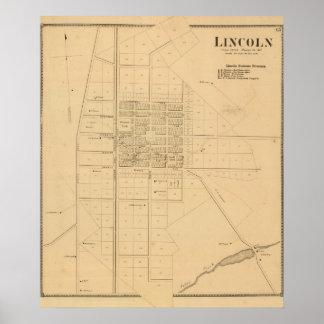 Lincoln Delaware Poster