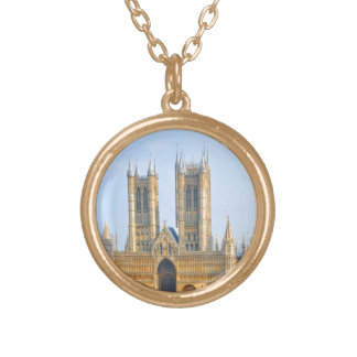 Lincoln, England Gold Plated Necklace