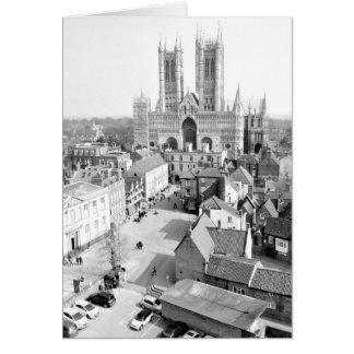 Lincoln, England Greeting Card