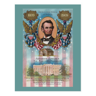 Lincoln From Log Cabin to White House Postcards