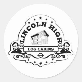 Lincoln High Sticker