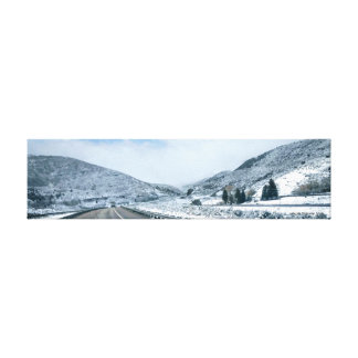 Lincoln Highway, Utah Canvas Print