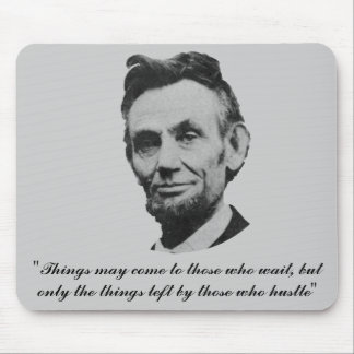 Lincoln -  Hustle Mouse Pad