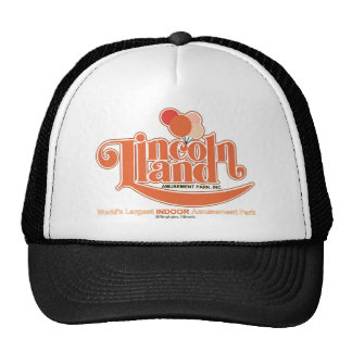 Lincoln Land Amusement Park Effingham Illinois Mesh Hat